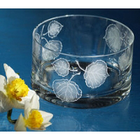 Etched Crystal Bowls