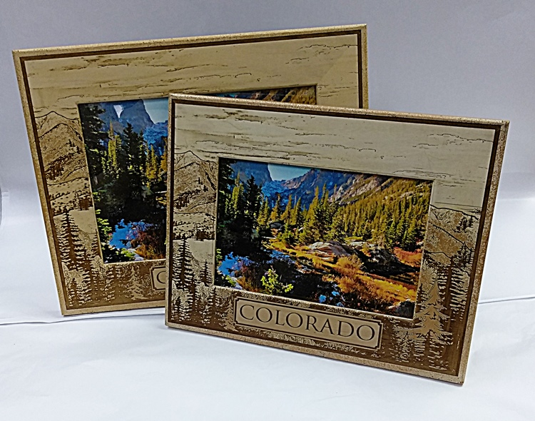 Wooden Colorado Picture Frames 4x6