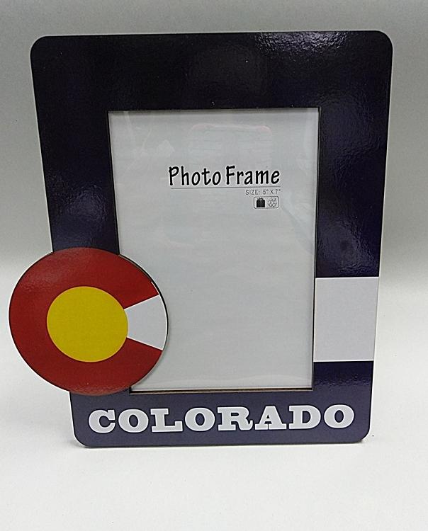 Colorado Flag 5x7 Photo Frame