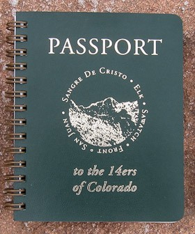 Passport To The 14ers Of Colorado