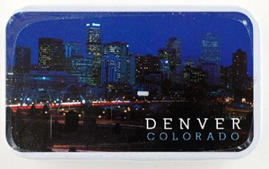Denver at Night Mint Tin