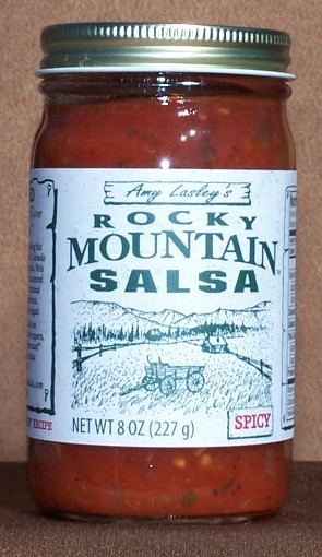 Rocky Mountain Salsa, Spicy 8 oz