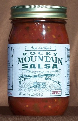 Rocky Mountain Salsa, Spicy 16 oz