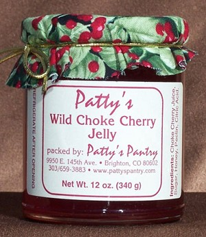 Wild Choke Cherry Jelly