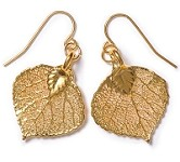 Aspen Leaf Lace Earrings