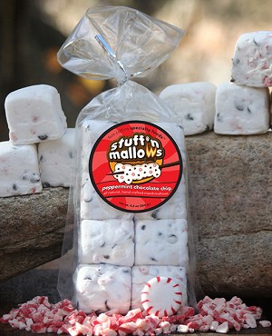 Peppermint Chocolate Chip Marshmallows