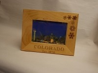 Light Wooden Colorado Picture Frame 4X6