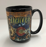 One Mile Above Sea Level Denver Mug