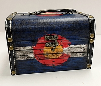 Large Colorado Flag Storage Box