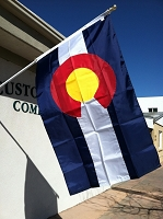 3'x5' Colorado State Flag
