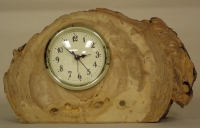 Aspen Log Desk Clock