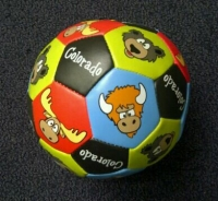 Colorado Cartoon Wildlife Soft Ball