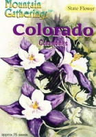 Colorado Columbine Seed Packet