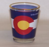 Colorado Flag Shot Glass