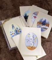 Hand Painted Watercolor Cards