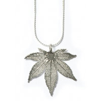 Japanese Maple Leaf Necklace