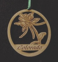 Columbine Ornament