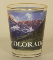 Maroon Bells Shot Glass