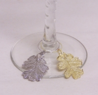 Oak Lace Wine Charms
