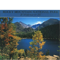Rocky Mountain National Park Book