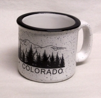 White Colorado Mug