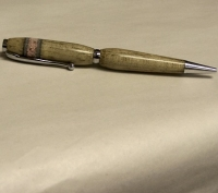 Beetle Kill Wood & Stone Pen