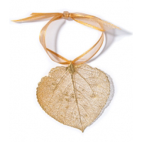Aspen Leaf Lace Ornament