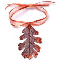 Oak Lace Leaf Ornament