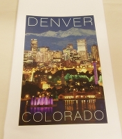 Denver Colorado Kitchen Towel