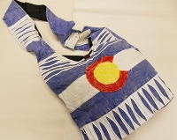 Colorado Flag Hobo Purse