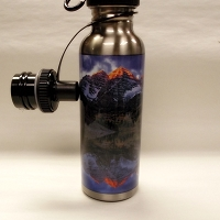 Maroon Bells Stainless Steel Water Bottle