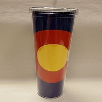 CO Flag Cold Water Cup