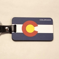 Colorado Flag Keychain