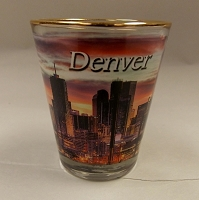 Denver Dusk Shot Glass