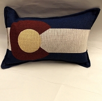 Colorado Flag Pillow 9x12