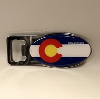Colorado Flag Bottle Opener
