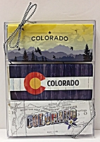 3 Colorado Chocolate Bars Pack