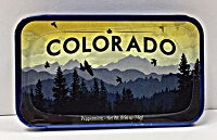 Colorado Mountain Scene Mint Tin