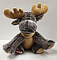 Colorado Flag Plush Moose