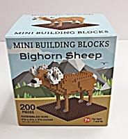 Mini Building Blocks Bighorn Sheep