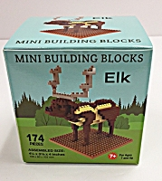 Mini Building Blocks Elk