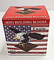 Mini Building Blocks Bald Eagle