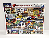 I Love Colorado Puzzle