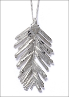 Silver Redwood Necklace