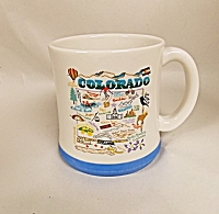 Colorado Map Mug