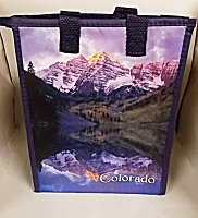 Maroon Bells/ Colorado Fourteeners Cooler Bag