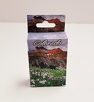 Mini Colorado Columbine Playing Cards