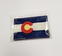 Mini Colorado Flag Chocolate Bar