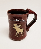 Tall Colorado Moose Mug