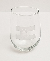 Colorado Flag Stemless Wine Glass